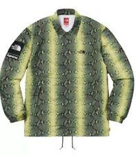 Supreme X The North Face Snakeskin Green MEDIUM Jacket