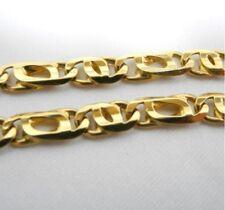 18ct Yellow Gold Birdseye Link Bracelet Length 21cm