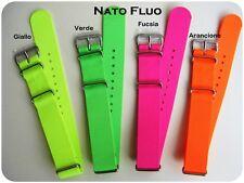Cinturini NATO G10 Fluo: 18-20mm. Fluo Nylon Straps. ENTRATE!!!