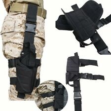 Adjustable Airsoft Tactical Hunting Pistol Gun Drop Leg Thigh Holster Pouch Bag