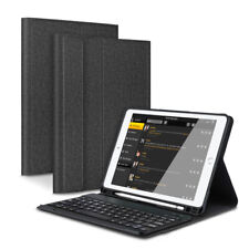 "For iPad 9.7"" 6th/5th Gen 2018 2017 Wireless Bluetooth Keyboard with Stand Case"