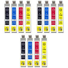 12 Ink Cartridges (Set) for Epson Stylus BX3450, DX4000, DX4050, DX7400, SX200