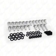 Silver Normal Fairing Bolts Kit For 03-06 Kawasaki Ninja ZX6R ZX 636