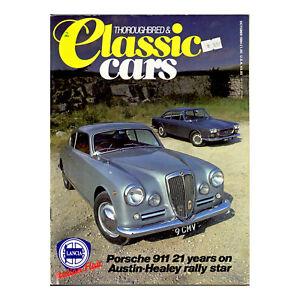 Thoroughbred and Classic Cars 1984 Oct Austin Healey, Lotus Elite, Ferrari 250LM