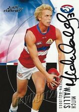 ✺Signed✺ 2012 WESTERN BULLDOGS AFL Card MITCH WALLIS