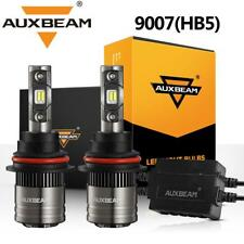 AUXBEAM 9007 LED Headlight Bulbs Hi-Lo Beam Decoder for Dodge Ram 1500 2002-2005