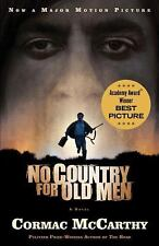 NO COUNTRY FOR OLD MEN by Cormac McCarthy 2007 softcover FATE IN THE WEST