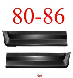 80 86 Front Bed Patch Set Lower 8' Bed F150 F250 F350 1981-141, 1981-142
