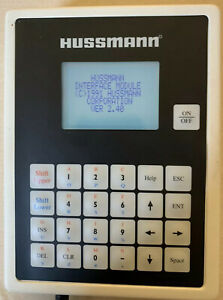 Hussmann Protocol Hand Held 1991 Version 2.40 Interface Device Part No 374511B