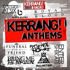 VARIOUS ARTISTS Kerrang! Anthems CD NEW 2016