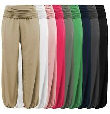 Haremshose - BOHO-CHIC - luftige Sommerhose - Flatterhose - weites Bein Gr 38-44