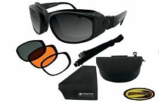 Bobster Sport and Street Motorcycle Bike Cruiser Sunglasses Goggles BSSA001AC