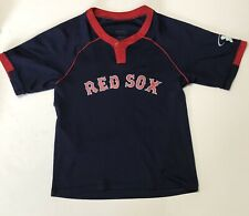 Kids Boston Red Sox Shirt Jersey Size Youth Medium #10 Excellent Preowned