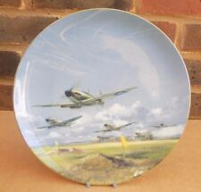 COALPORT Battle of Britain 50th Anniversary Cabinet Plate