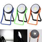 COB LED 300 Lumen Stand Flashlight Hanging Magnetic Hook Light Work Lamp Torch