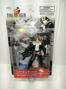 1999 Final Fantasy VIII Squall Leonhart Extra Soldier Bandai Action Figure