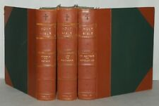 A Rebound Holy Bible In 3 Volumes, c1774/1775, HB, William Scott, George Allen