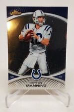 2010 Topps Finest #10 Peyton Manning Indianapolis Colts Football Card VGNM