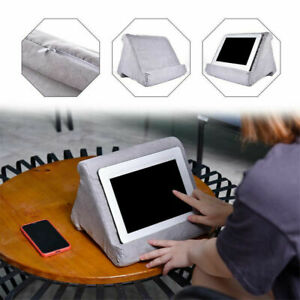 Lightweight Tablet Pillow Stand For iPad Book Holder Rest Lap Reading Cushion AU