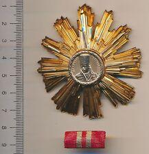 Ceausescu ROMANIAN Communist Soviet medal ROMANIA Order Tudor Vladimirescu 2nd c