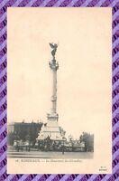 CPA 33 - BORDEAUX - le monument des girondins