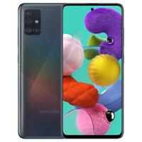 "Genuine Samsung Galaxy A51 128GB Single-SIM 6.5"" Unlocked Phone - Prism Black"