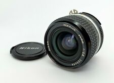 【TOP MINT】 Nikon NIKKOR 24mm f/2.8 Ai-S AIS F Mount Wide Angle Lens From Japan