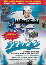 2020 2021 Upper Deck MVP NHL Hockey Sealed Blaster Box Gold Parallel Exclusives