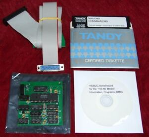 RS232C Serial board kit for the Tandy Radio Shack TRS-80 Model I