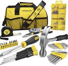 stanley tool kit complete diy kit x38 piece including kit bag