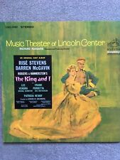 THE KING AND I - MUSIC THEATER OF LINCOLN CENTER (USA VINYL LP, 1964)