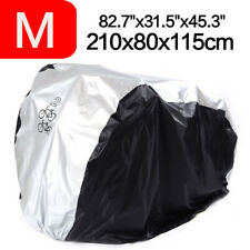 Bicycle Bike Cover Storage Sun Rain Dust Protector Garage Outdoor for 2 bikes