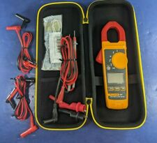 Fluke 324 Trms Clamp Meter,Excellent, Case, Screen Protector