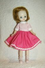 Vintage Betsy McCall: Pink Pink Checkered Dress