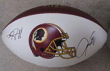 NFL 2016 Washington Redskins Hand Signed Autographed Football 17 Sigs