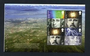 GB 2010 Booklet pane ROYAL SOCIETY SG 3027a MNH / UMM FV£3.52 (S*-10)