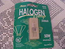 Abco Halogen Lamp Bulb 12V 50W JC Base GY6.35 Item# 04738 New