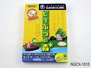 Doubutsu no Mori + Plus Animal Crossing Gamecube Japanese Import GC US Seller B