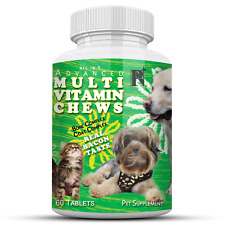 Vitamin tablets for dog cat canine complete supplement all ages