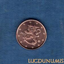Finlande 2012 1 centime d'euro SUP SPL Pièce neuve de rouleau - Finland
