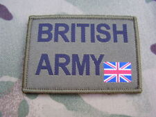 British Army Union Jack Flag MTP Green UBACS Combat Shirt/Jacket ID Patch/Badge