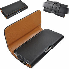 Bolso cruzadas para Sony Xperia z3 (z1) Compact funda protectora cinturón Bolsa clip L