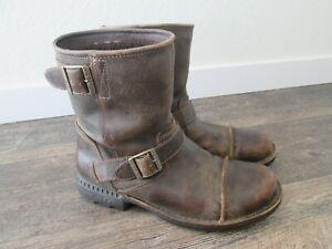 UGG Australia Rockville II Brown Distressed Biker Boots Men's Size 10