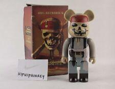 MIB PIRATES OF THE CARIBBEAN 400% Be@rbrick MEDICOM Bearbrick Jack Sparrow