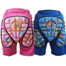 Boys Girls Kids Ski Skiing Snow Shorts Snowboard Hip Padded Protective Pants