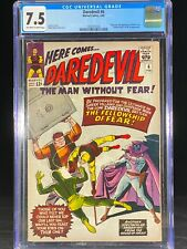 Daredevil #6 CGC 7.5 1965 Origin & First Appearance of Mister Fear A198