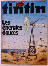 b)TINTIN du 20/10/1981 ; Poster n° 4 des 35 ans/ Condor Man CIA contre KGB