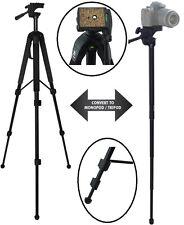 """Robust 68"""" Convertible Tripod-Monopod For Canon HF20 HF100 HF200 HF M300"""