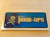 HOOK-UPS Vintage Skateboard Die Cut Resin Bubble Sticker, Series 8, Run#85692419