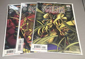 ABSOLUTE CARNAGE: SCREAM #1 2 3 COMPLETE MARVEL 2019  1st Print 1-3